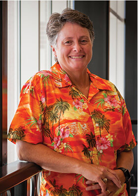 Dr. Kaye McKinzie: Resident Open Water Instructor on the UCA college campus