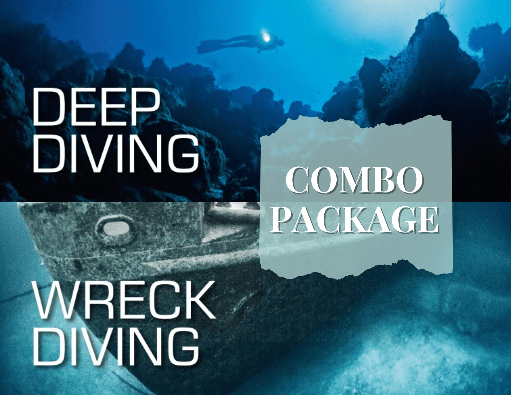 Deep & Wreck Diving Course Package