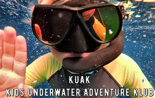 Kids Underwater Adventure Klub - Surface Air-Supplied for Youth (SASY - Ages 5-8)