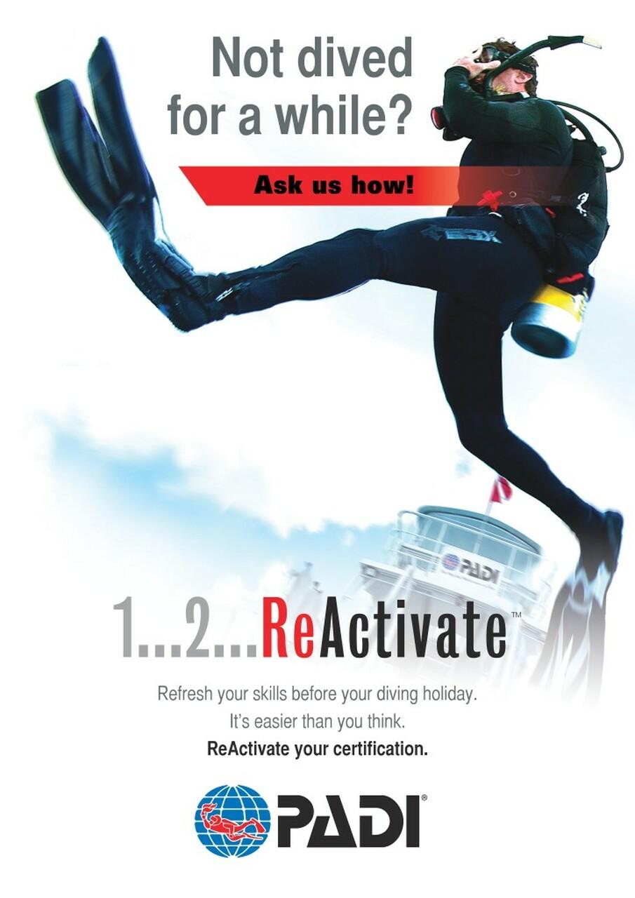 ReActivate Scuba Refresher Program