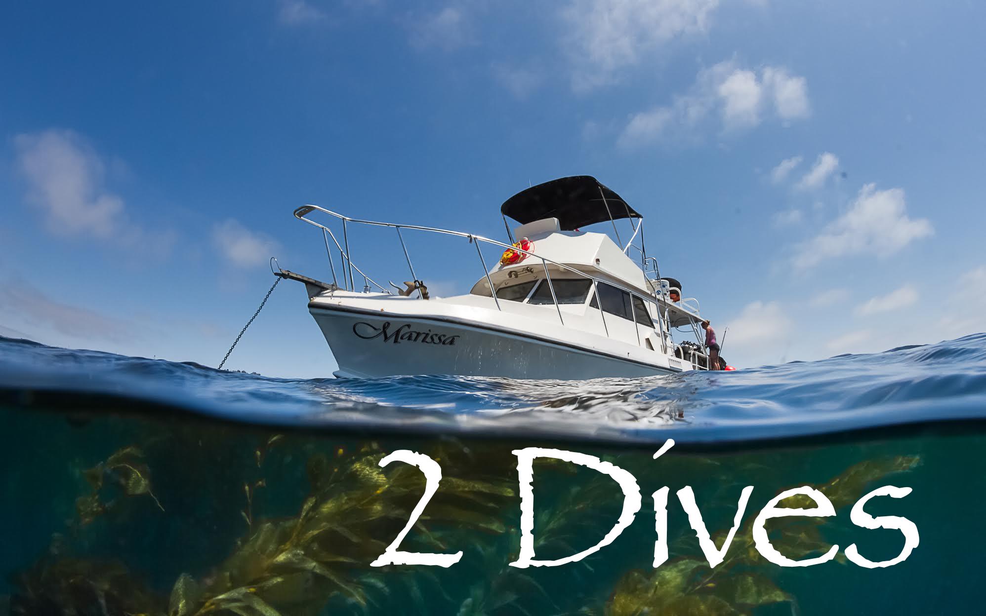 Marissa Charters - 2 Dives
