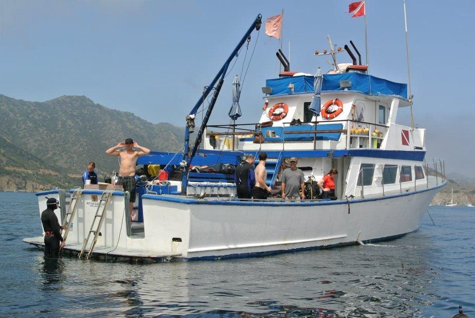 Bottom Scratcher Dive Boat