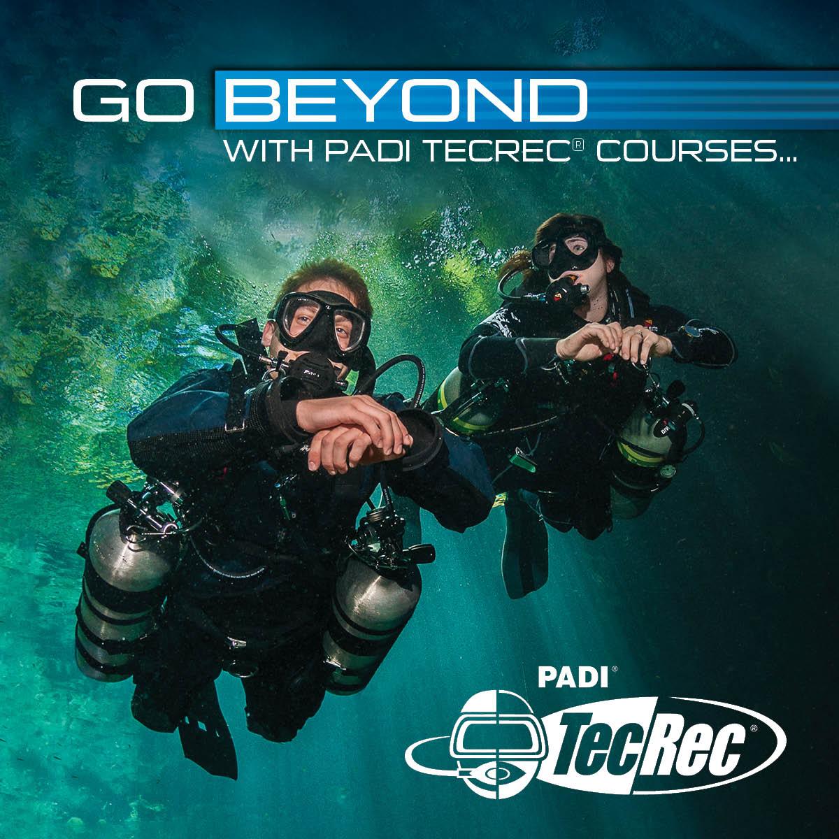 PADI Tec/Rec Courses