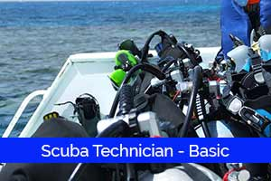 SCUBA SHACK TECHNICIAN - BASIC  --