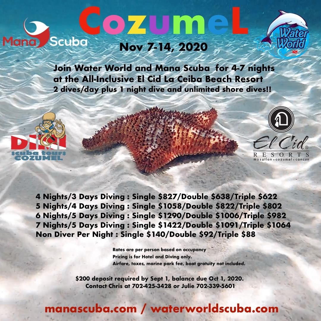Cozumel 2020 All-Inclusive at El Cid La Ceiba Beach Resort
