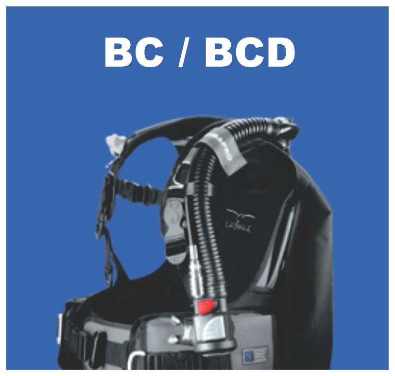 Scuba diving bcd service