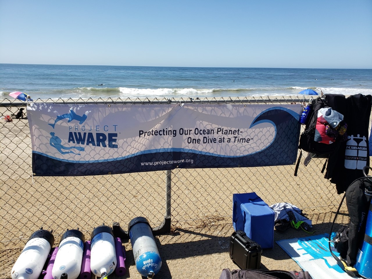 Project  AWARE Leo Carrillo Clean-Up