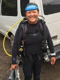 Jodi Iwafuchi, Master Scuba Diver Trainer, Scubatude Lead Instructor