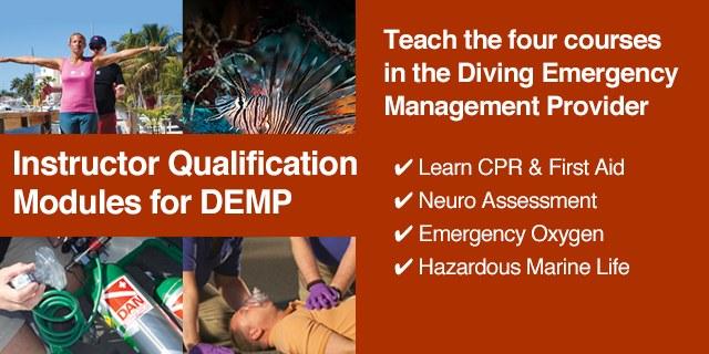 DAN Diving Emergency Management Provider (DEMP) Instructor