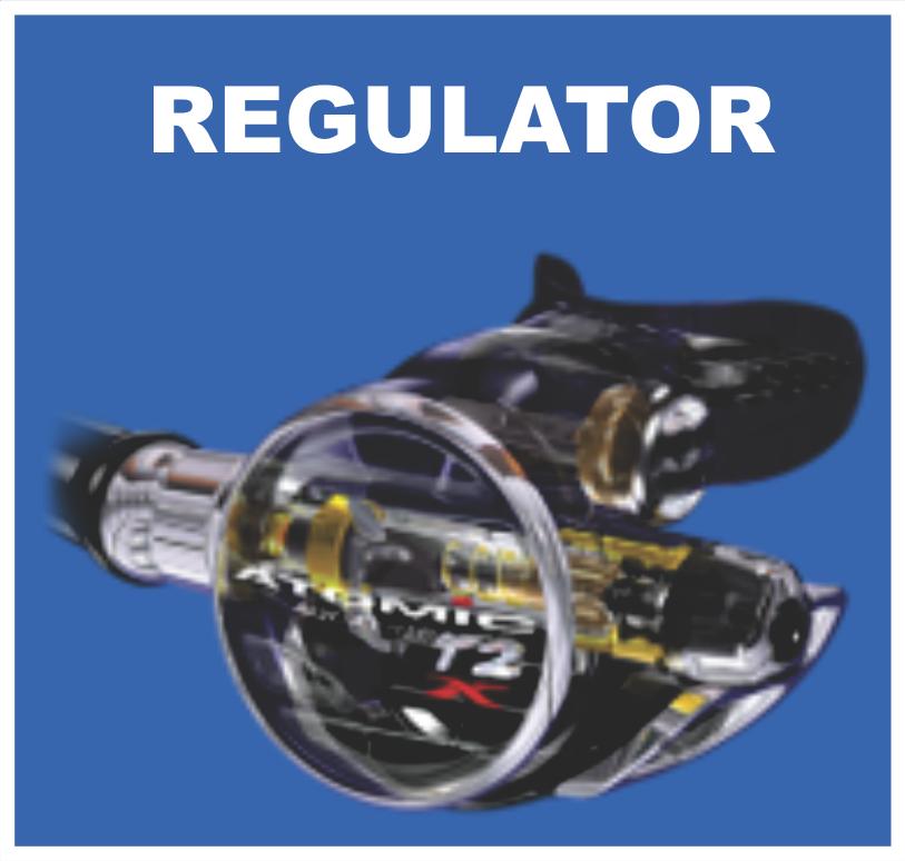 Scuba regulator service