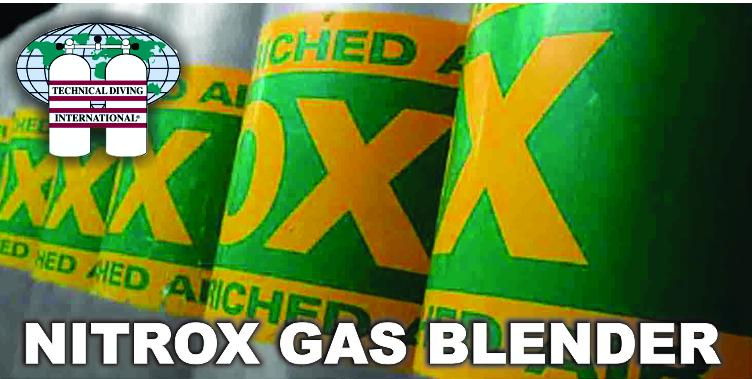 TDI Nitrox Gas Blender Course