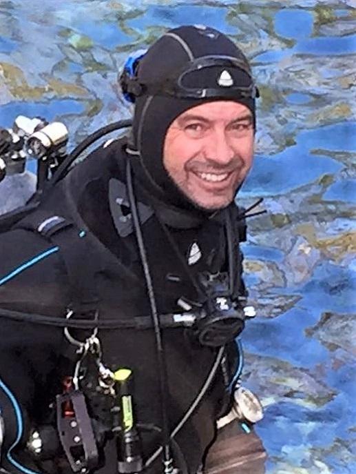 Chad Holzer, Scubatude Master Scuba Diver Trainer