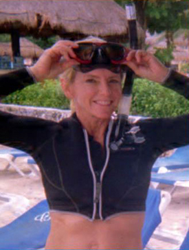 Robyn Moore, Rescue Diver, Scubatude Office Manger