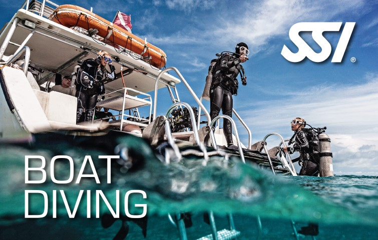 SSI Boat Diving Class