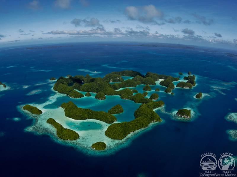 Dive Palau aboard the Palau Aggressor II