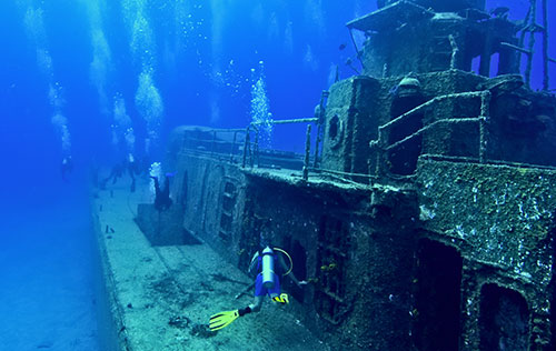 PADI Wreck Diver