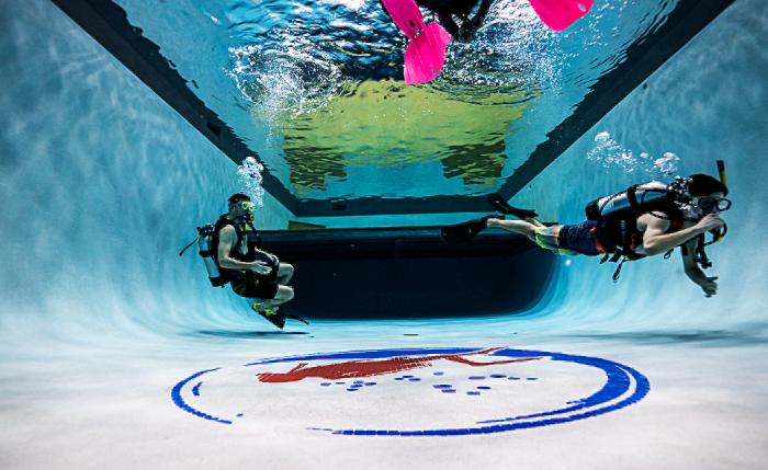 Dive Team Pool Practice