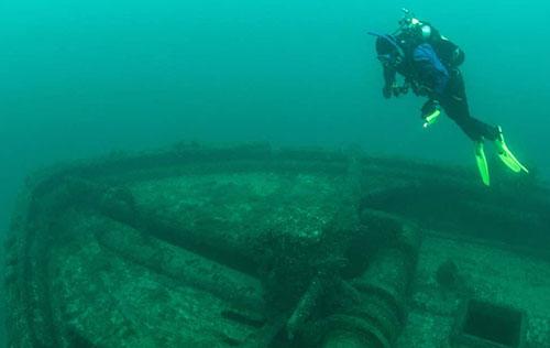 Dive the J.C. Morrison Wreck
