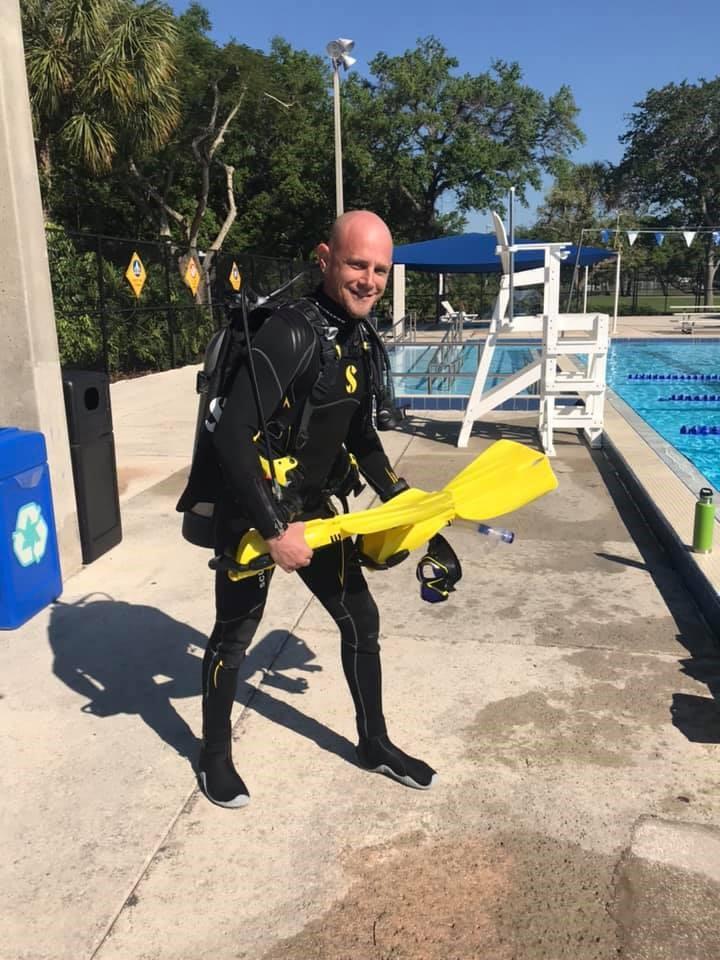 Brent Blair - Master Scuba Diver Trainer