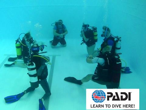 PADI Open Water Diver - Pool Sessions