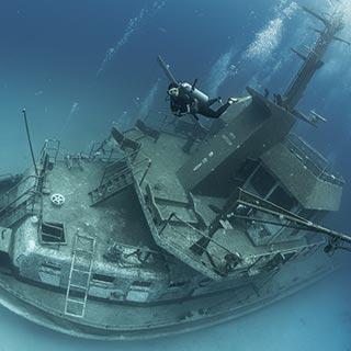 Wreck Diver (External Survey)