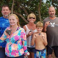 Shark Tooth Hunting - Venice Beach, Florida