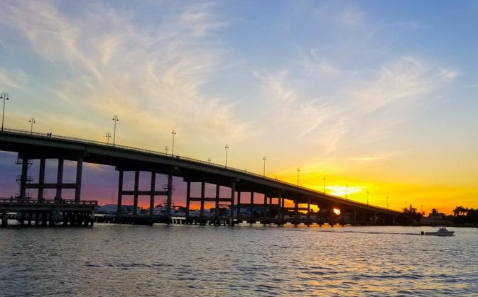 Blue Heron Bridge - Riviera Beach, Florida