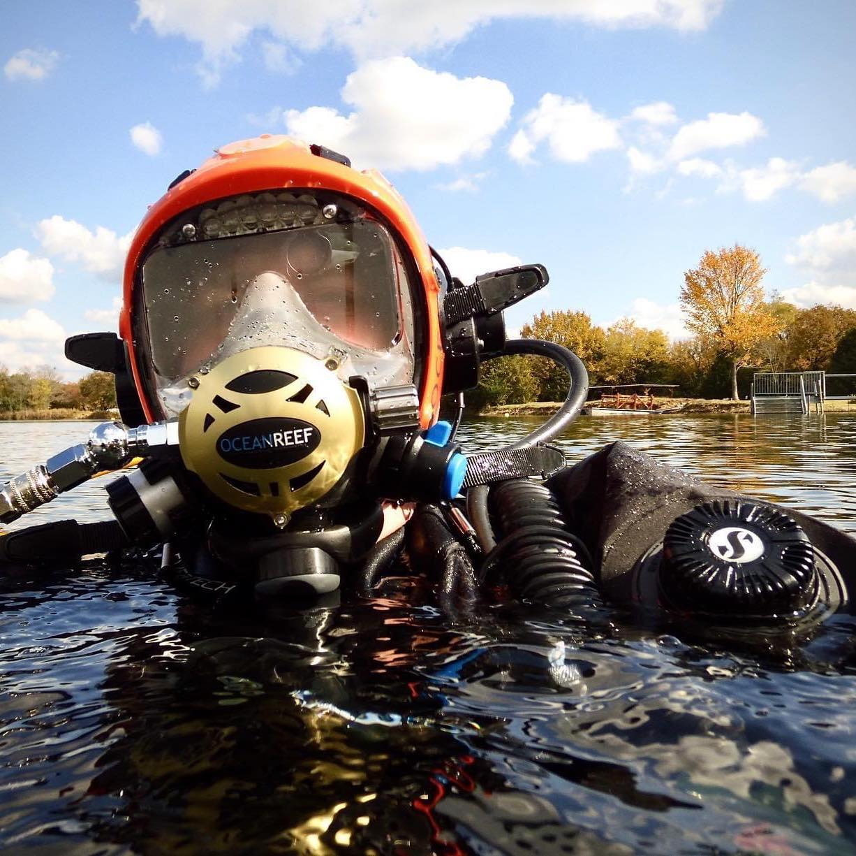 SDI Full Face Mask Diver