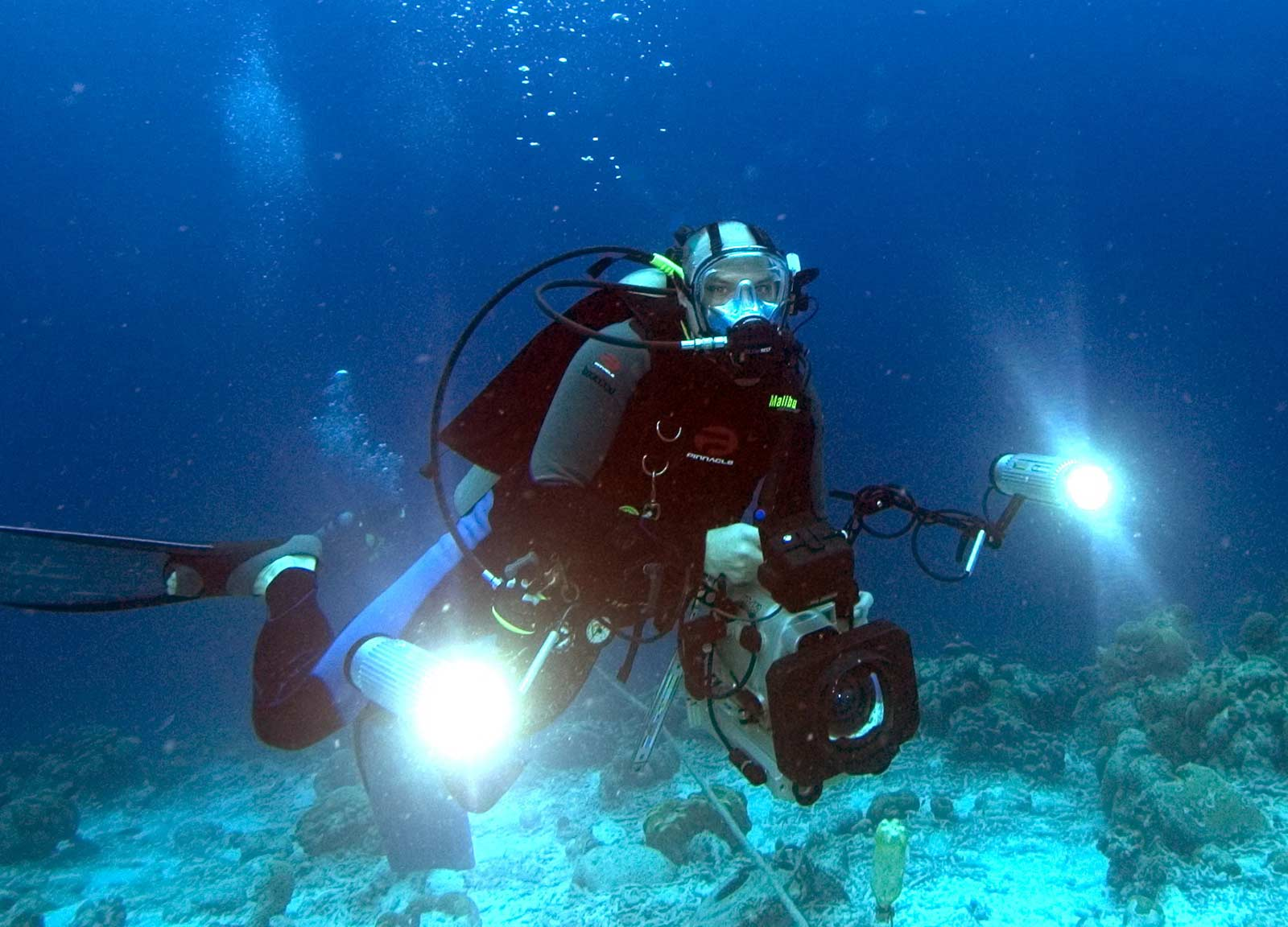 SDI Underwater Video Diver