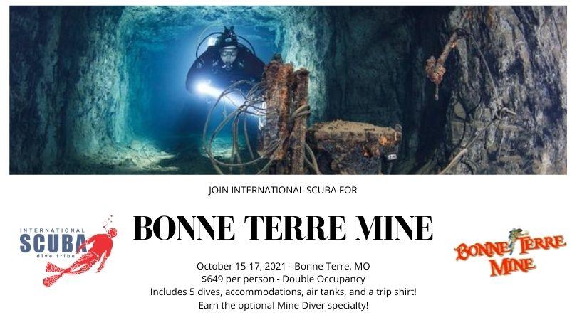 Bonne Terre Mine | October 15-17, 2021