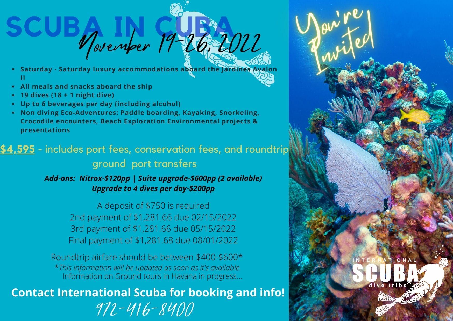 Cuba November 19-26, 2022
