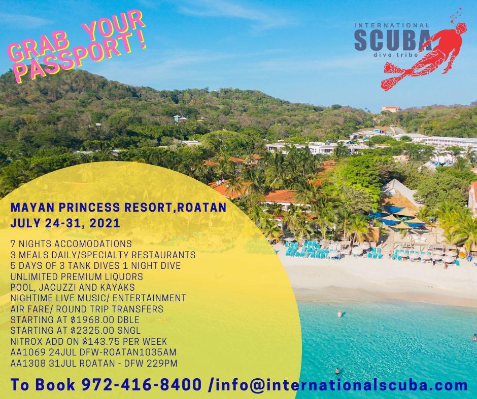Roatan - July 24-31, 2021