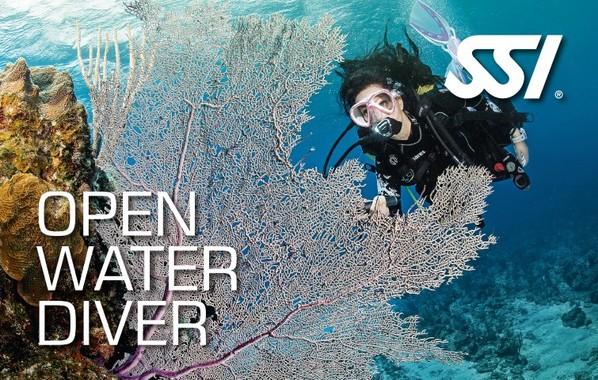 SSI Open Water Scuba Diver