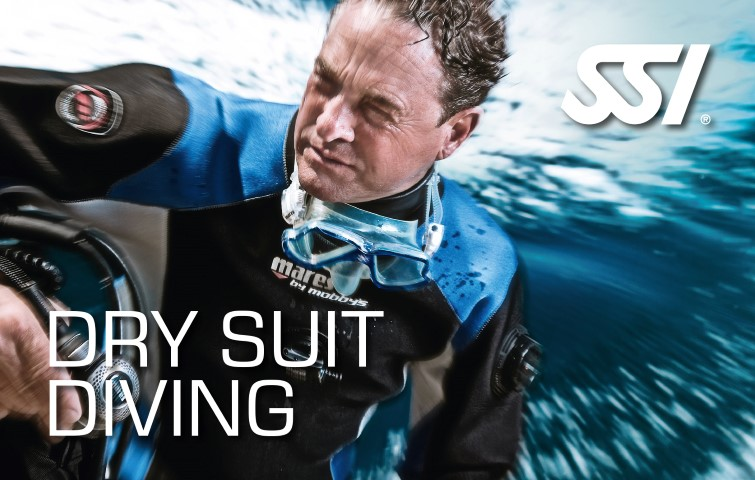 SSI Dry Suit Diver