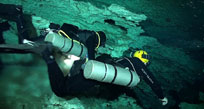 Open Water Side Mount Diver