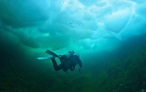 Technical Cave Diver