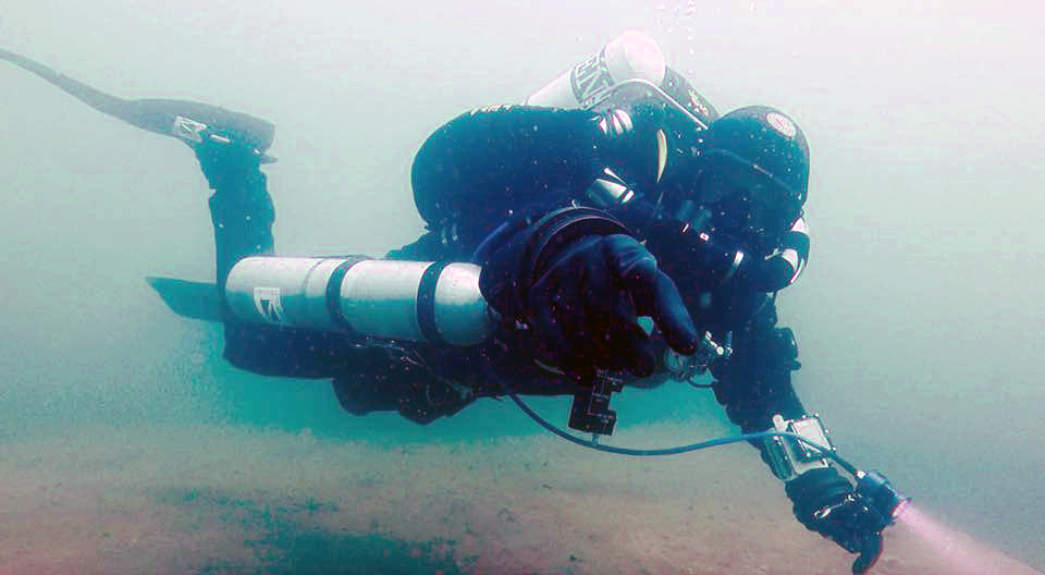 Basic Air Diluent Decompression Rebreather Diver