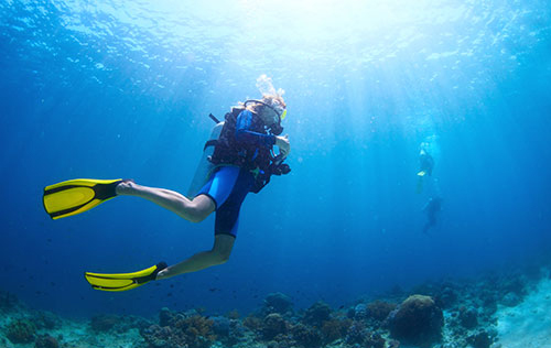 Mine Diver