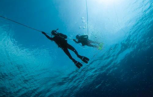 Search and Recovery Diver