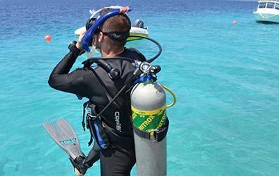 Enriched Air Nitrox (EANx) Diver
