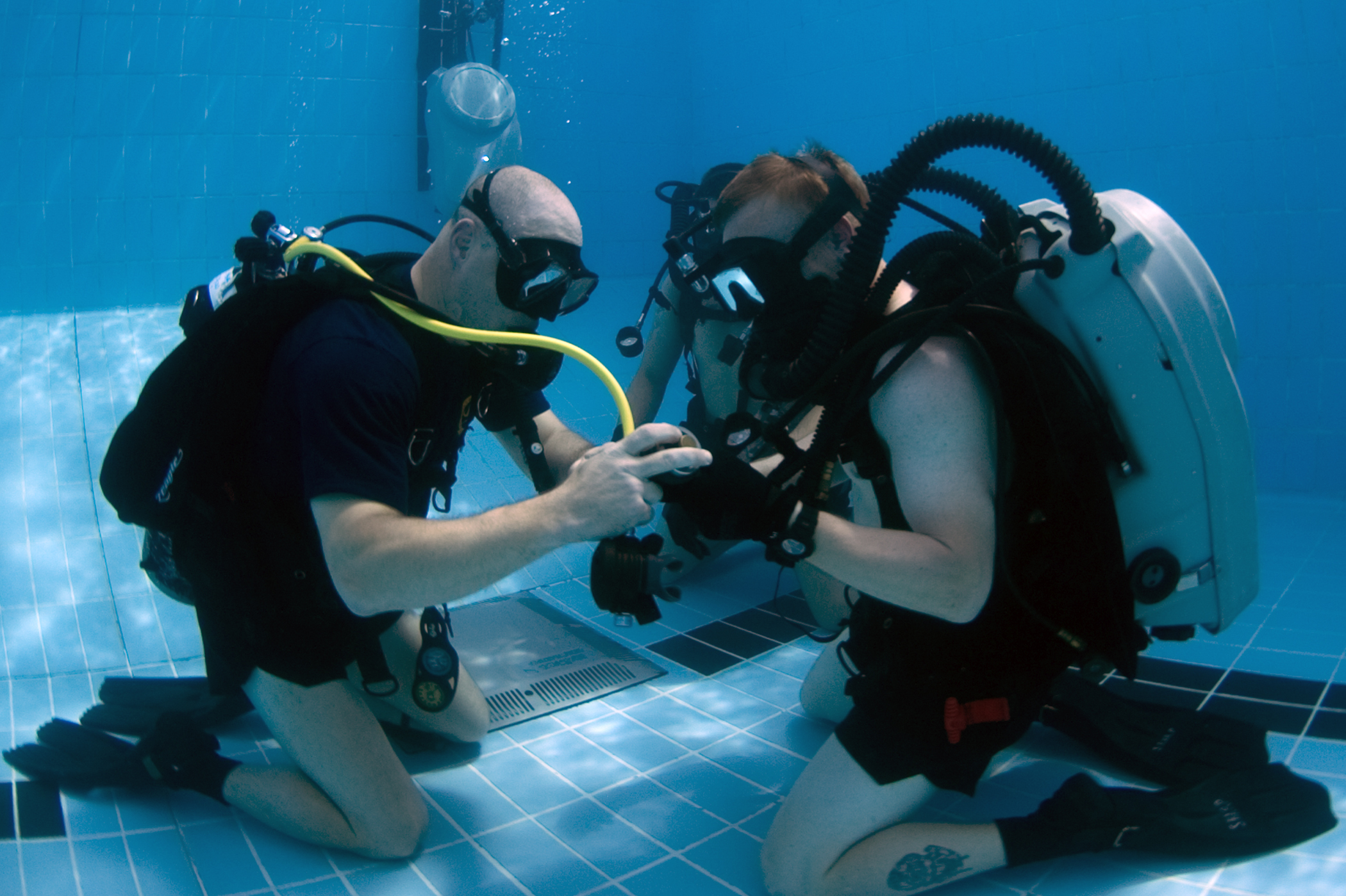 Confined Water Lessons