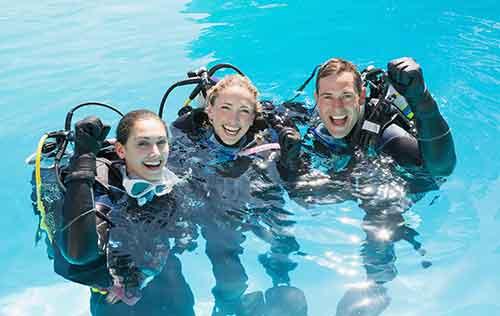 PADI Open Water Certification Dives