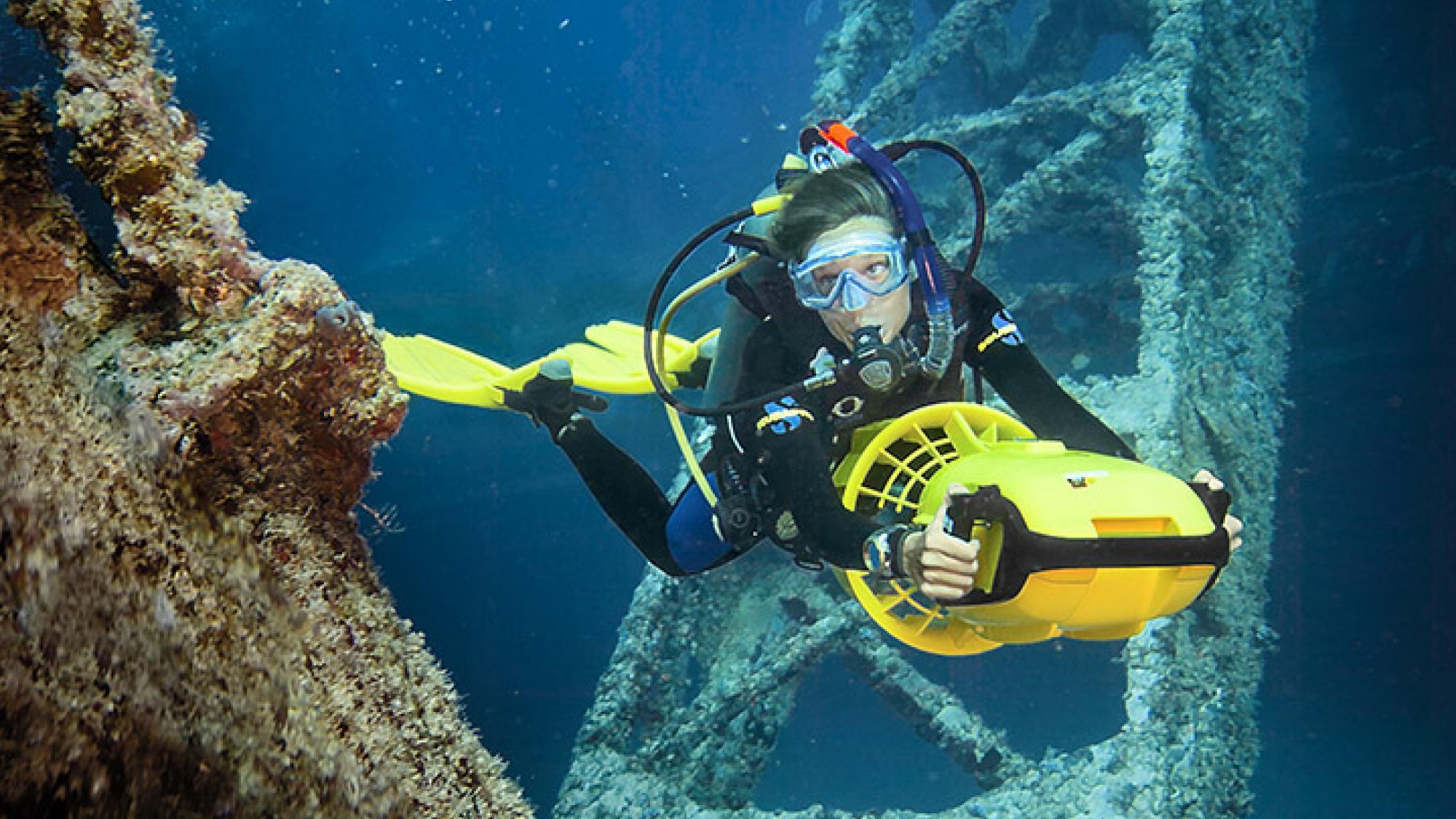 Diver Propulsion Vehicle