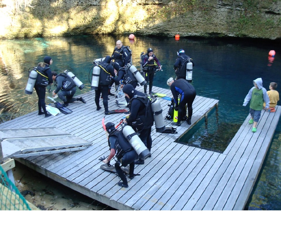 Pool Sessions for Open Water Scuba Diver